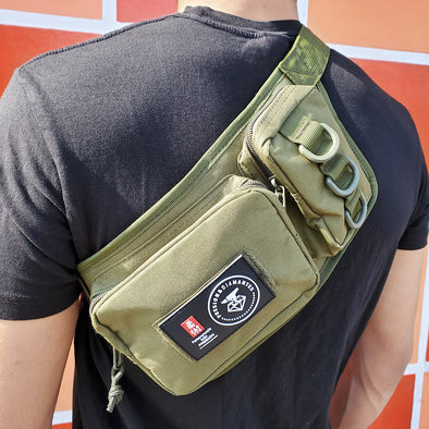 Presion Diamantes Tactical Cross Body Bag