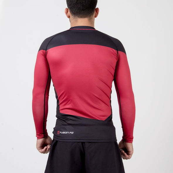 Fusion FG Star Trek: The Next Generation Rash Guard - Red - Fighters Market