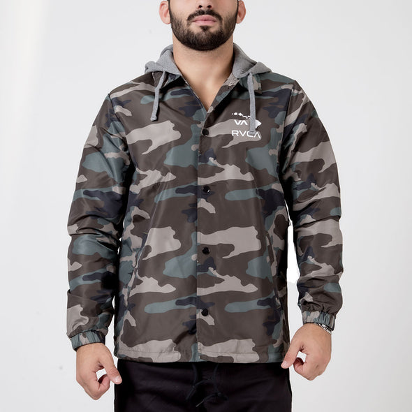 RVCA Island Hex Coaches Jacket - Fighters Market