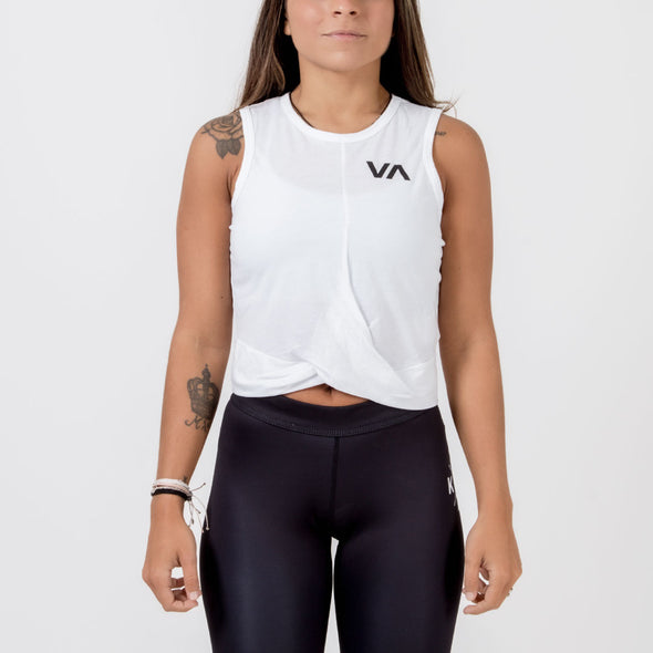 RVCA Women's Twist Front Tank - Fighters Market