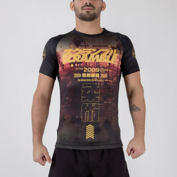 Scramble Cali Rashguard - Fighters Market