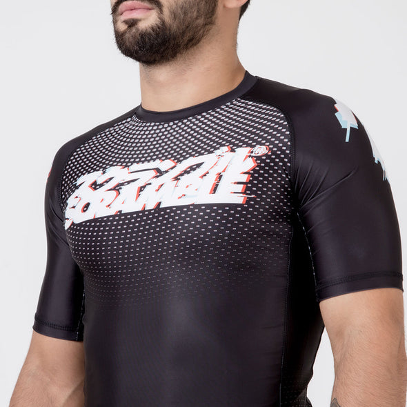 Scramble Glitch Rashguard - Fighters Market