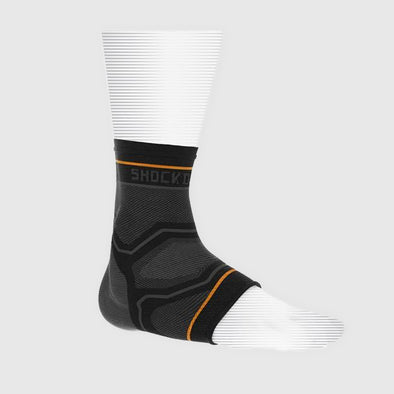 Shock Doctor Compression Knit Ankle Sleeve w/Gel Support - Fighters Market