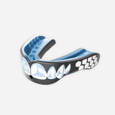 Shock Doctor Gel Max Power Mouth Guard - Chrome Teeth - Fighters Market