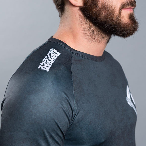 Scramble Strong Beard Rashguard - Fighters Market