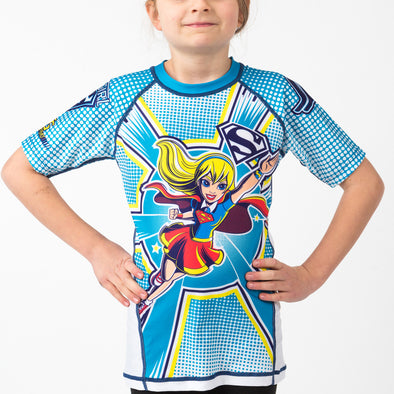 Fusion FG DC Superhero Girls Supergirl Rash Guard - Fighters Market
