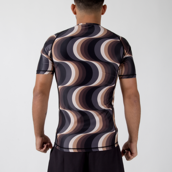 VHTS x Iwaya Collab Kinetic S/S Rash Guard - Fighters Market