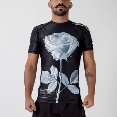 VHTS x Iwaya Collab Rose S/S Rash Guard - Fighters Market
