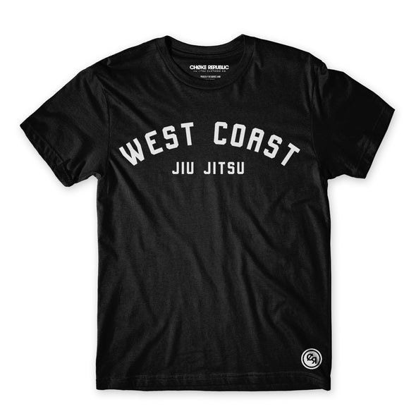 Choke Republic West Coast Jiu Jitsu V2 Tee - Fighters Market
