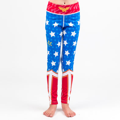 Fusion FG Wonder Woman Girls Spats - Fighters Market
