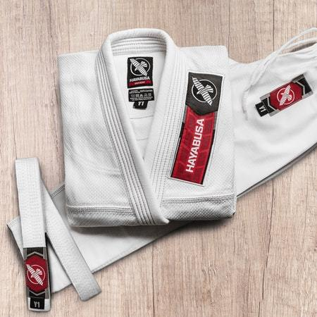 Hayabusa Gold Weave Kids Jiu Jitsu Gi (Belt Included) - Fighters Market