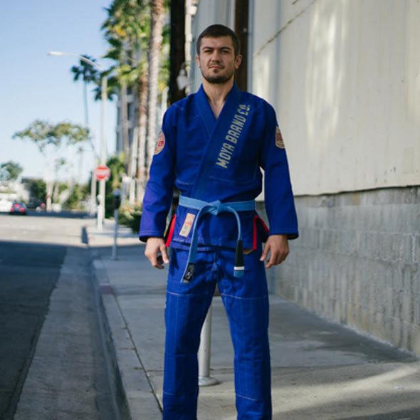 Moya Blue Glass BJJ Gi - Fighters Market