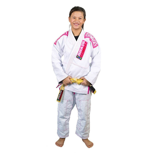 Brazil Combat X-Lite Girls Jiu Jitsu Gi - Fighters Market