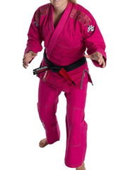 Brazil Combat BJJ Roots Womens Jiu Jitsu Gi - Pink - Fighters Market