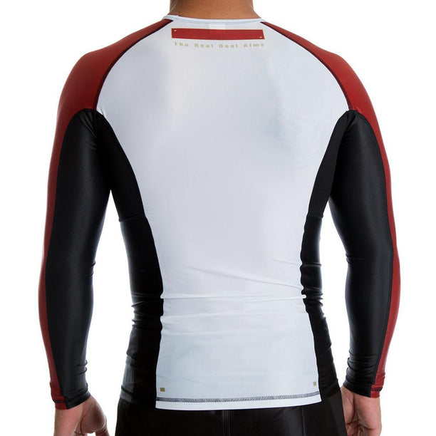 Bull Terrier No-Gi & Compression Bull Terrier Panel Long Sleeve Rash Guard