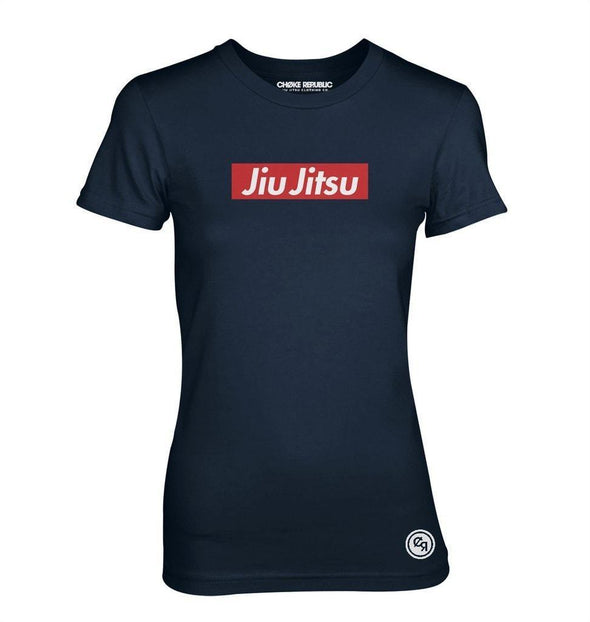 Choke Republic Jiu Jitsu Supreme Women's Tee - Fighters Market