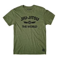 Choke Republic Streetwear L / Military Green Choke Republic JJ vs The World Tee