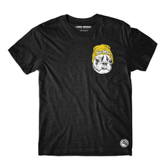 Choke Republic Streetwear S / Charcoal Choke Republic Frenchie Tee