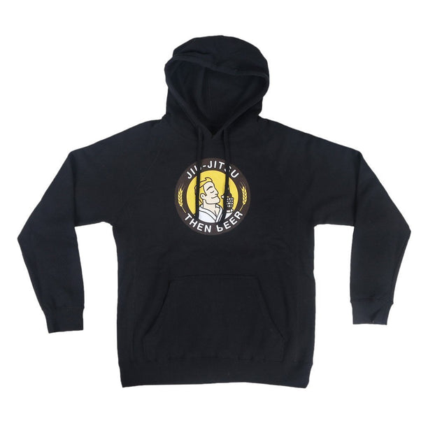 Choke Republic Jiu Jitsu then Beer Hoodie - Fighters Market