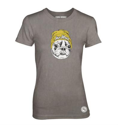 Choke Republic Jiu Jitsu Frenchie Women's Tee - Fighters Market