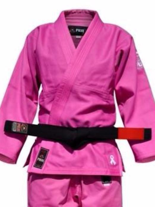Fuji BJJ Single Weave Women's Gi - Pink - Fighters Market