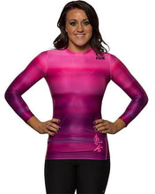 Fuji No-Gi & Compression L / Pink Fuji Haiku Women's Rash Guard