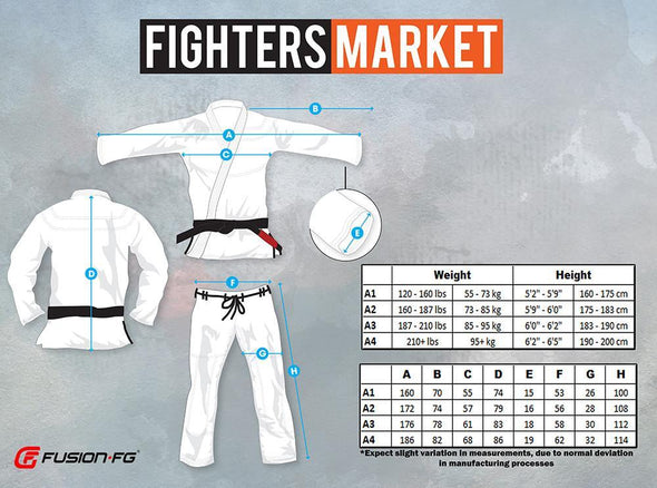 Fusion FG Star Trek Mr Spock BJJ Gi - Fighters Market