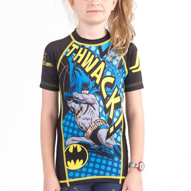 Fusion FG Batman Thwack Kids Rash Guard - Fighters Market