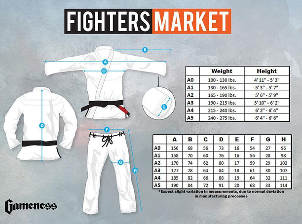 Gameness Feather 2016 Gi - Fighters Market
