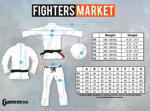 Gameness Feather Gi - Fighters Market