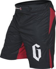 Gameness No-Gi & Compression 30 / Black/Red Gameness Strike Fight Shorts
