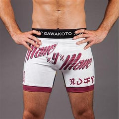 "Gawakoto No-Gi & Compression L Gawakoto ""Mano y Mano"" Fight Shorts"