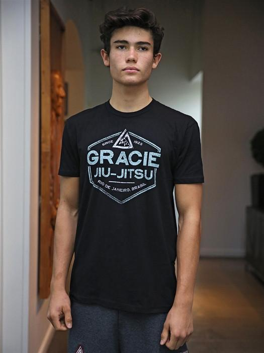 Gracie Academy Streetwear Gracie Grover Shirt - Black