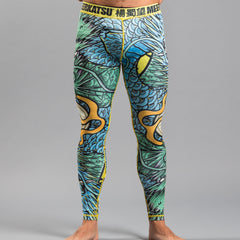 Meerkatsu Colliding Dragons Spats - Fighters Market