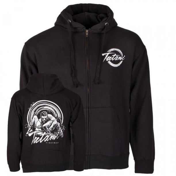 Tatami Grapplers Collective - Kimura Zip Up Hoodie - Fighters Market