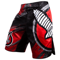 Hayabusa No-Gi & Compression 30 / Red Hayabusa Chikara 3 Fight Shorts
