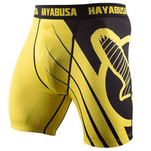 Hayabusa No-Gi & Compression L / Yellow Hayabusa Recast Compression Shorts