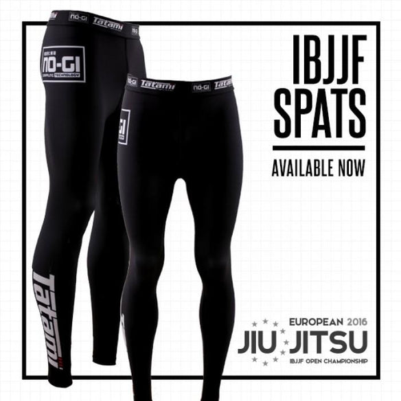 Tatami IBJJF Black Spats - Fighters Market