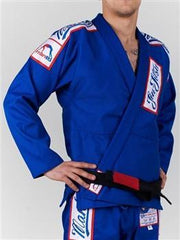 Manto Jiu Jitsu Gear A0 / Blue Manto Champ 5.0 BJJ Gi