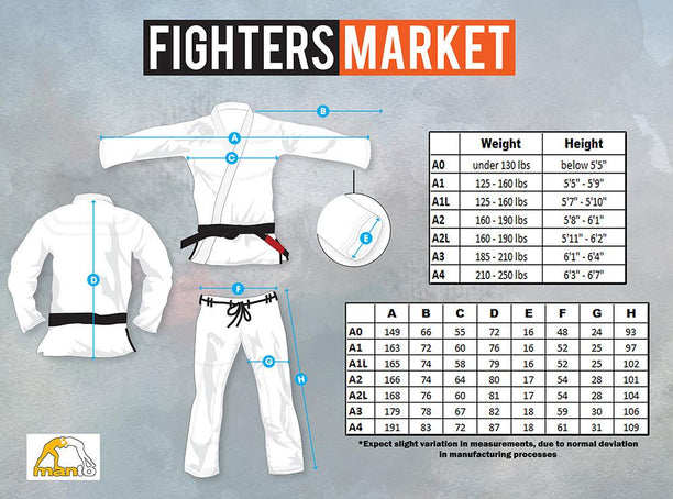 Manto X Pro BJJ Gi - Fighters Market