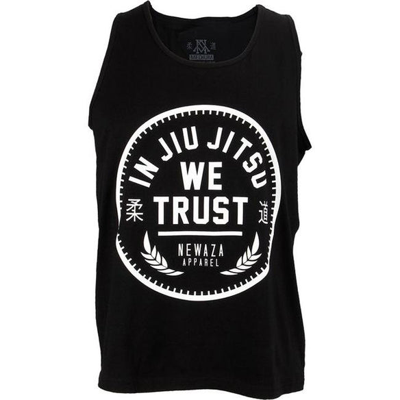 Newaza In Jiu Jitsu We Trust Tank