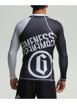 Gameness Pro Long Sleeve Ranked Rash Guard - Fighters Market