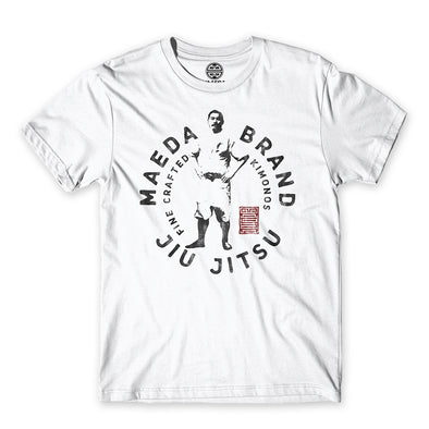 Maeda Brand Red Stamp Tee - Fighters Market