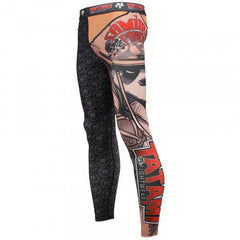 Tatami Samurai Panda Spats - Fighters Market