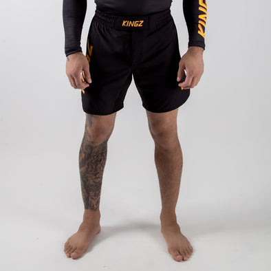 Kingz KGZ Shorts - Orange Edition - Fighters Market