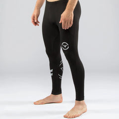 Virus Men's Stay Warm Coffee Charcoal Compression V3 Tech Pant - Fighters Market