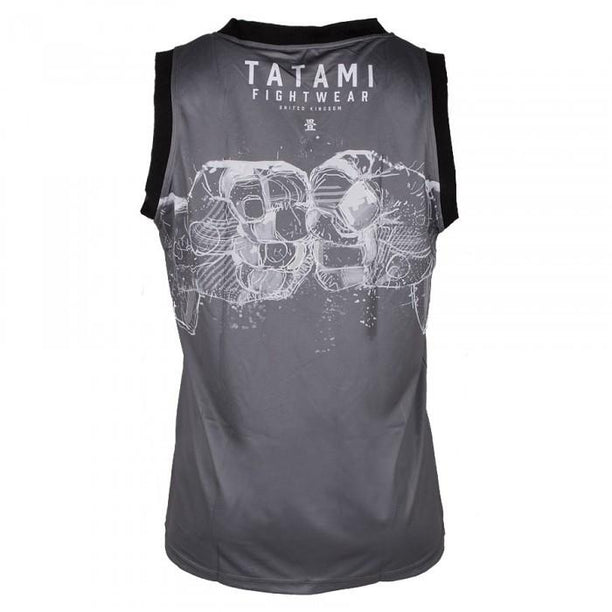 Tatami Tank Jersey - Dark Grey Supply Co Vest - Fighters Market