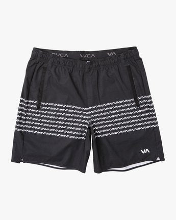"RVCA Yogger Stretch 17"" Short - Fighters Market"