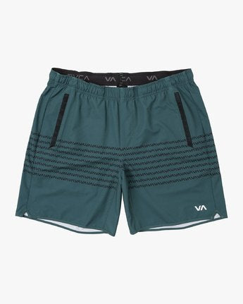 "RVCA Yogger Stretch 17"" Short"