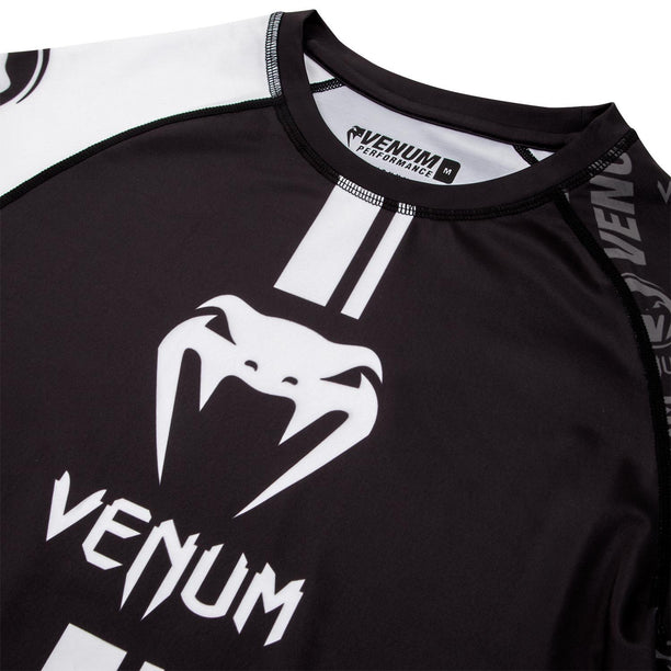 Venum Logos Long Sleeve Rash Guard